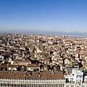 Aerial View Of Venice Art Print