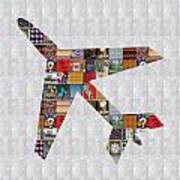 Aeroplane Fly Showcasing Navinjoshi Gallery Art Icons Buy Faa Products Or Download For Self Printing Art Print