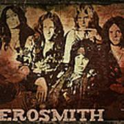 Aerosmith - Back In The Saddle Art Print