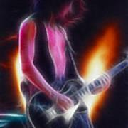 Aerosmith-joe-94-gb26a-fractal Art Print