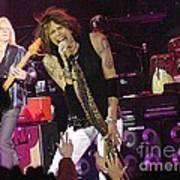 Aerosmith - Steven Tyler - Dsc00072 Art Print
