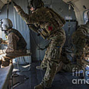 Afghan Air Force Members Art Print
