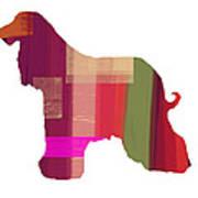 Afghan Hound 2 Art Print by Naxart Studio