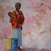 Africa Child Art Print
