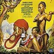 Africa Speaks Art Print