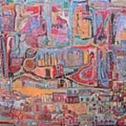 Africa-oppression Art Print