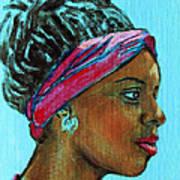 African American 5 Art Print