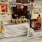 African Corner Store Art Print