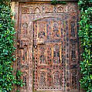 African Door Parker Palm Springs Art Print