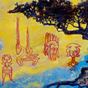 African Dream Art Print