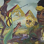 African Gold Art Print