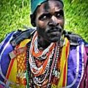 African Look Art Print