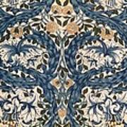 African Marigold Design Art Print by William Morris