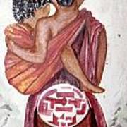 African Mother N Child Art Print