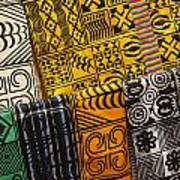 African Prints Art Print