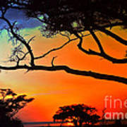 African Skies Art Print