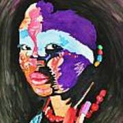African Woman Art Print by Glenn Calloway