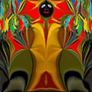 Afro Art Art Print