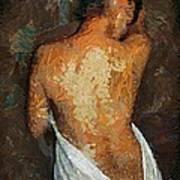 After A Bath Art Print