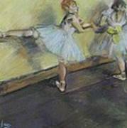 After Degas 2 Art Print by Dorothy Siclare