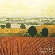 After Harvest Art Print