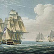 After The Battle Of Trafalgar Art Print