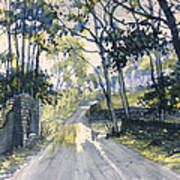 After The Storm On Woldgate Art Print