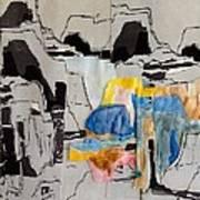 Afterimage - Palo Duro Canyon - Number Twelve Art Print