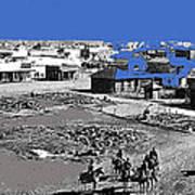 Aftermath Of Pancho Villa's Raid #2 At Columbus New Mexico On March 9 1916-2013  Art Print