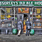 Afternoon At Mcsorley's Art Print