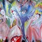 Afternoon Bird Ballet Art Print
