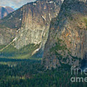 Afternoon In Yosemite Art Print