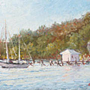Afternoon On The Bay Art Print