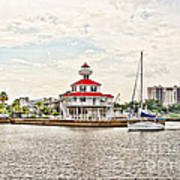 Afternoon On The Water - Hdr Art Print