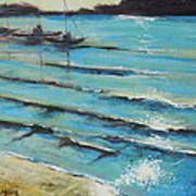 Afternoon Shoreline Art Print
