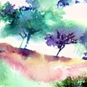 Against Light 1 Art Print
