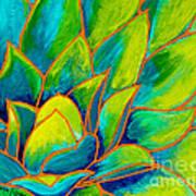 Agave Glow Art Print