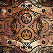 Age Of The Machine 20130605rust Vertical Art Print
