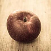 Aged Apple Art Print
