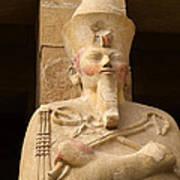Ageless Egyptian Queen Print by Brenda Kean