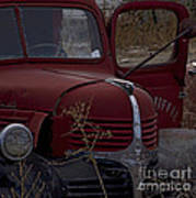 Aging Dodge   #3514 Art Print