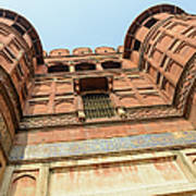 Agra Fort In India Art Print