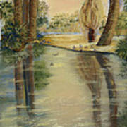 Agua Caliente Art Print