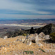 Aguereberry Point View Of Death Valley #4 Art Print