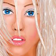 Aguilera Beautiful Art Print