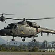 Agustawestland Lynx Helicopters Art Print
