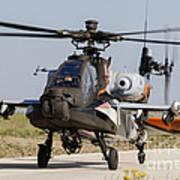 Ah-64d Apache Longbow Of The Royal Art Print