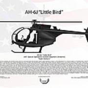Ah-6j Little Bird Night Stalkers Art Print