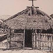 Ahka Village Church Art Print