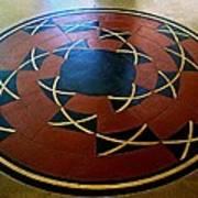 Ahwahnee Hotel Floor Medallion Art Print